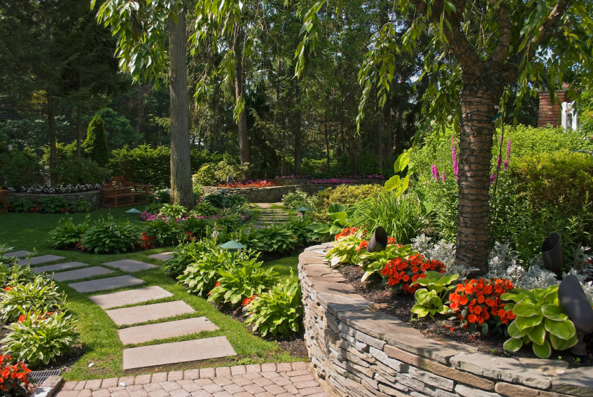 Great landscaping ideas in atlanta to try lawn and garden for Great backyard designs