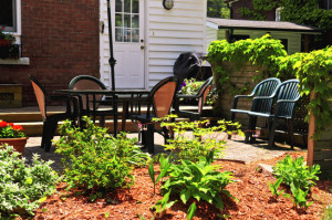 Landscaping Around Patio - Northside Tool Rental Blog